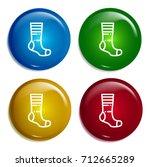 sock multi color gradient...