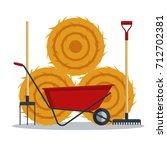 Red Flat Gardening Wheelbarrow...
