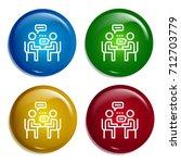 interview multi color gradient...