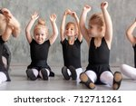 Little girls ballerina in black ...