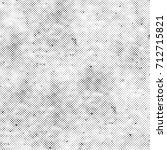 grunge texture  stains  cracks  ... | Shutterstock . vector #712715821