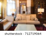 blur abstract livingroom... | Shutterstock . vector #712719064