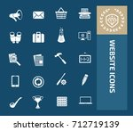website icon set vector