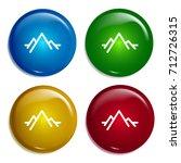 mountain multi color gradient...