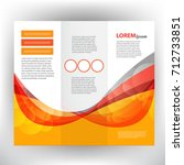 business brochure design | Shutterstock .eps vector #712733851