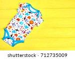 infants patterned organic...   Shutterstock . vector #712735009