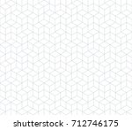 abstract geometric pattern with ... | Shutterstock .eps vector #712746175