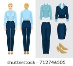 vector illustration of... | Shutterstock .eps vector #712746505