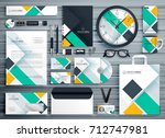 professional business... | Shutterstock .eps vector #712747981