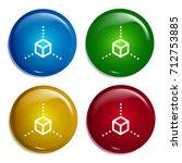 cube multi color gradient...