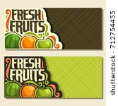 vector horizontal banners for... | Shutterstock .eps vector #712754455