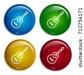 guitar multi color gradient...