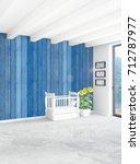 vertical bedroom minimal or... | Shutterstock . vector #712787977