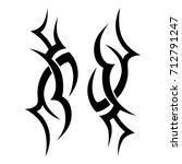 tattoos art ideas designs  ... | Shutterstock .eps vector #712791247
