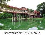sanam chan  nakhon pathom...   Shutterstock . vector #712802635
