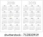 Simple Turkish Calendar For...
