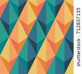 seamless abstract vector... | Shutterstock .eps vector #712837135