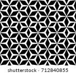geometric seamless pattern.... | Shutterstock .eps vector #712840855