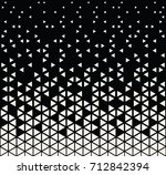 seamless geometric triangle... | Shutterstock .eps vector #712842394