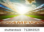 view of the infinity empty... | Shutterstock . vector #712843525