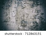 texture of the old painted wall | Shutterstock . vector #712863151