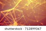 striking 3d rendering of the...   Shutterstock . vector #712899367