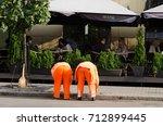 minsk  belarus   september 10 ... | Shutterstock . vector #712899445