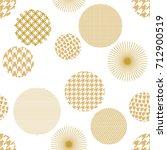 japanese motifs. seamless... | Shutterstock .eps vector #712900519