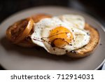 Fried Egg Sunny Side Up  With...