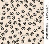 Seamless Pattern Of Cat...