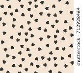 vector seamless pattern.... | Shutterstock .eps vector #712928464