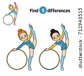 find differences  education... | Shutterstock .eps vector #712943515