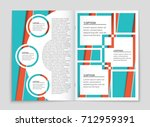 abstract vector layout... | Shutterstock .eps vector #712959391