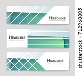 abstract vector layout... | Shutterstock .eps vector #712968805