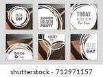 abstract vector layout...   Shutterstock .eps vector #712971157