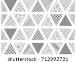 vector seamless pattern.... | Shutterstock .eps vector #712992721