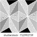 vector seamless pattern.... | Shutterstock .eps vector #712992739