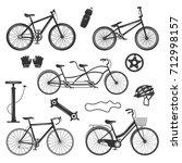 Bicycle Vintage Elements...
