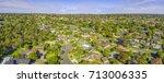 suburbian houses in australia.... | Shutterstock . vector #713006335