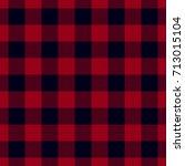 dark red lumberjack seamless... | Shutterstock .eps vector #713015104