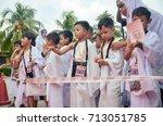 kuala lumpur  malaysia   11th...   Shutterstock . vector #713051785