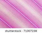 Bright cloth into the pink and white strip - stock photo