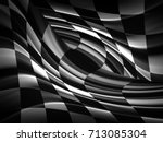 racing flag  | Shutterstock . vector #713085304