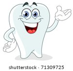cartoon tooth   Shutterstock .eps vector #71309725
