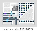 abstract vector layout... | Shutterstock .eps vector #713120824