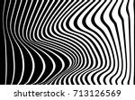 optical art abstract background ... | Shutterstock .eps vector #713126569