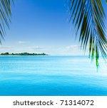 sea resort island | Shutterstock . vector #71314072