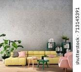 3d rendering 3d illustration... | Shutterstock . vector #713145391