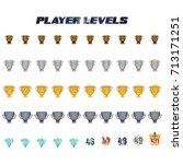 player levels from 1 to 50...