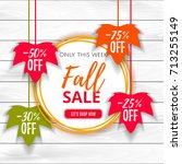 Autumn Sale Poster Of Discount...